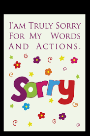 Sorry Cards Make Sorry Greeting Card Online India PrintLand Impressive Sorry