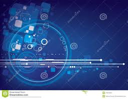 Design For Technology Technology Background Design Stock Vector Illustration Of