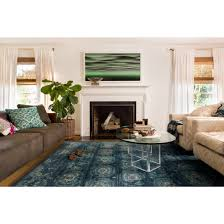 Navy Rug Living Room Loloi Rugs Journey Navy Blue Area Rug Reviews Wayfair