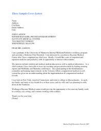 Cover Letter For Nursing Residency Program Huanyii Com