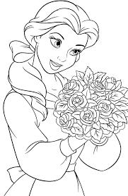 Belle Con Le Rose Disegni Da Colorare Gratis Disegni Da Colorare E