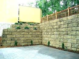 building a cinder block retaining wall concrete blocks retaining wall how to build a cinder block