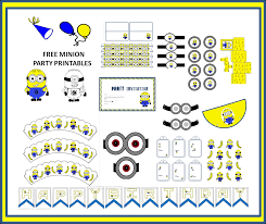 Minions Party Free Minion Party Printables Minions Party Pinterest Party