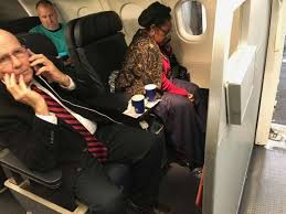 a woman claims united airlines gave her first class seat to rep sheila jackson
