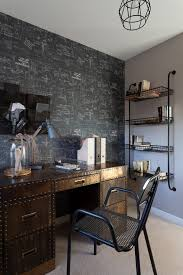 industrial office desk. Kent Industrial Office Desk Home Contemporary With Light Wood Shelves Chalkboard