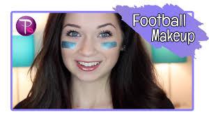 football game makeup macup101