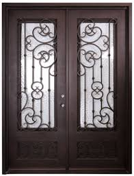wrought iron front doorsAffordable Wrought Iron Doors  Dallas TX