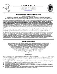 resume sample chef resume chef resume objective