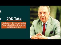 jrd tata the history of this aviation