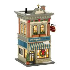 Department 56 City Lights Christmas Trimmings Amazon Com Department 56 Christmas In The City Village