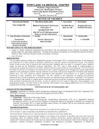 Veterans Affairs Resume Example Veteran Resume Resume Badak 1