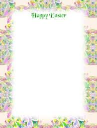 easter stationery easter stationery free printable unlined christmas stationery