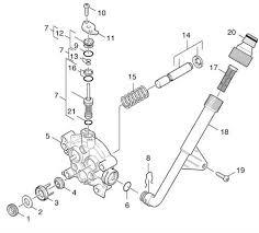 karcher k m wb gb pressure washer spares parts thrust guidance ref 4