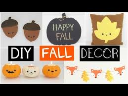 diy fall room decor five easy inexpensive ideas youtube