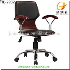leather antique wood office chair leather antique. Swivel Executive Chairs Leather Antique Wood Office Chair With Casters HE-2932