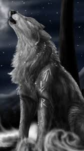 howling wolf wallpaper. Plain Wolf Howling Wolf Wallpaper On G