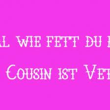 Sprueche Cousine Spruch Zitat