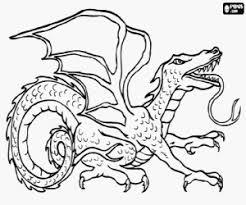 Kleurplaten Draken Kleurplaat 2