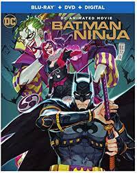 Amazon Com Batman Ninja Blu Ray Dvd Koichi Yamadera