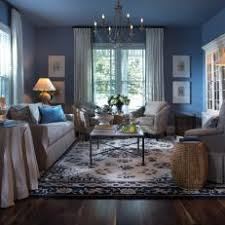 Blue gray living room Brown Blue Living Room With Antique Chinese Rug The Spruce Blue Living Room Photos Hgtv