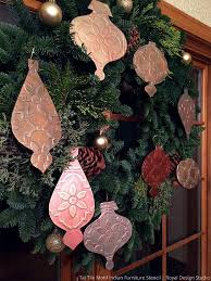 Small Picture 92 best DIY Christmas Decor Stencil Ideas images on Pinterest