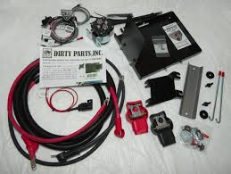 dirty parts dual battery kit fj cruiser