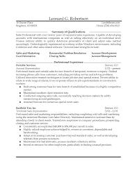 Outside Sales Representative Sample Resume Mitocadorcoreano Com