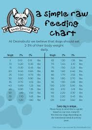 Raw Feeding Chart For Puppies Facebook T Shirt
