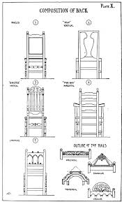 chair design drawing. Composition Of Back Chair Design Drawing