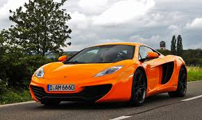 mclaren mp4 c open doors water car