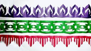 Paper Cutting Design How To Make Paper Cutting Border Designs Paper Art Easy Step By Step