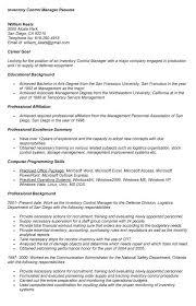 Inventory Control Job Description Resumes Inventory Control Description Resume Acepeople Co