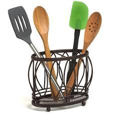 Kitchen Utensil Holder Kitchen Utensil And Silverware Holders Organize It