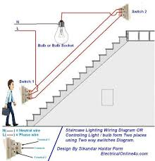 two way light switch diagram & staircase wiring diagram דברים wiring diagram for 2 way light switch two way light switch diagram & staircase wiring diagram