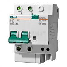<b>Дифференциальный</b> автоматический <b>выключатель</b> 2Р 16А 30мА ...