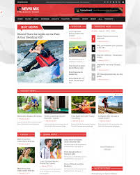 Newspaper Html Template Html Template For News Website Soh Ucc