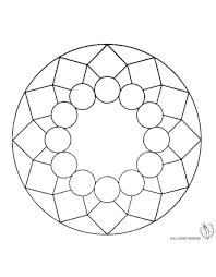 Disegno Mandala 8 Disegni Da Colorare E Stampare Gratis Per