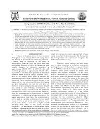 PDF) Exergy analysis of steam system components of power plant at S ...