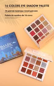 <b>IMAGIC New Arrival</b> Charming Eyeshadow 16 Color Palette Make ...