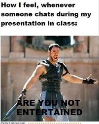 Academic Presentation | Autodidaktikos via Relatably.com