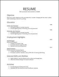 Resume Builder Free Download Awesome Resume Maker Free Download Pdf