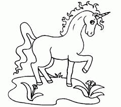 Small Picture Unique Coloring Pages Of Unicorns 87 About Remodel Picture