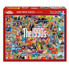 Unique jigsaw puzzles designed by independent artists. 1000 Piece The Nineties Jigsaw Puzzle By White Mountain Puzzles Barnes Noble