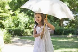 cute little in white summer dress