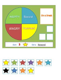 Reward Chart And Mood Indicator Set