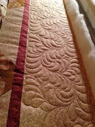 Sew'n Wild Oaks Quilting Blog: Machine Quilting Madness & I made the borders 8