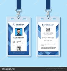 041 Template Ideas Employee Id Card Photoshop Free Download