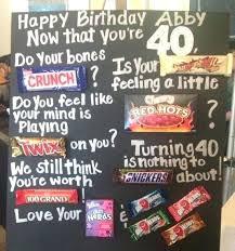 40th birthday present ideas for him