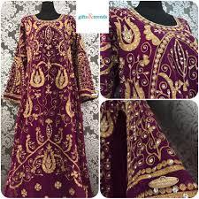 Dubai Jubah Design Womens Kaftan Jubah Dress Full Design Dubai Purple Womens