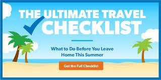 The Ultimate Travel Checklist Daveramsey Com